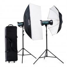 Набор студийного света Godox QS600II